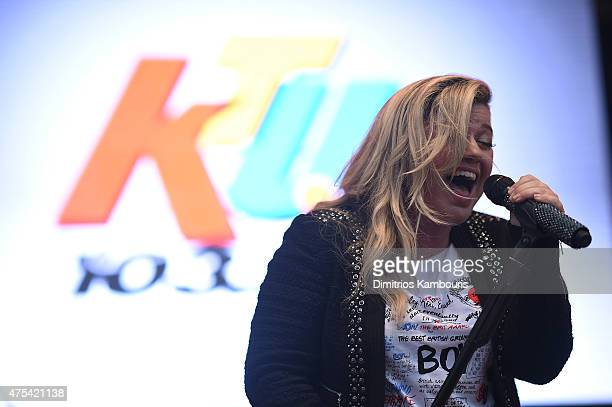 Kelly Clarkson performs at 1035 KTU's KTUphoria 2015 at Nikon at Jones Beach Theater on May 31 2015 in Wantagh New York