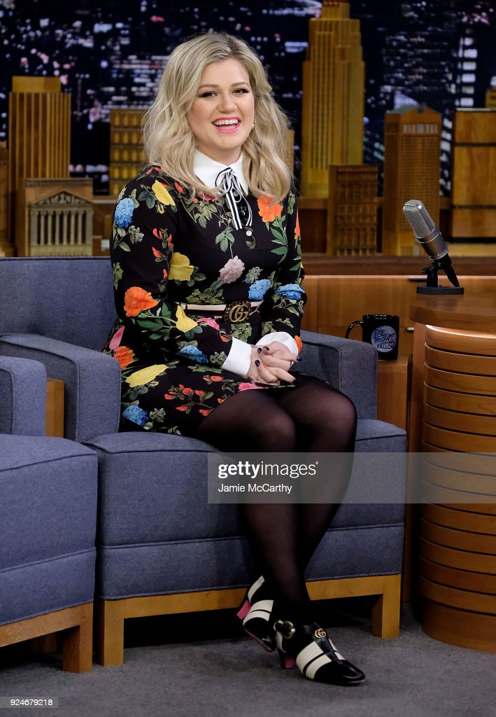 "Kelly Clarkson Visits ""The Tonight Show Starring Jimmy Fallon"""