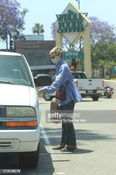 Kelly Coffield is seen on May 28 2020 in Los Angeles CA