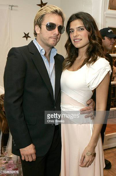 Kelly Cole and Lake Bell during Grand Opening of Hayley Starr at Hayley Starr in West Hollywood California United States