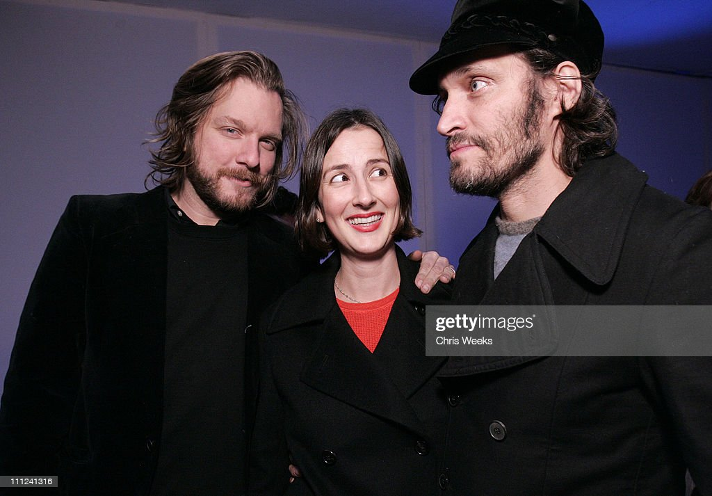 Kelly Cole, Anna Getty and Vincent Gallo during Party Celebrating the Premiere of the New TBS Comedy Series 'Daisy Does America' - Red Carpet & Inside at Guy's in West Hollywood, California, United States.