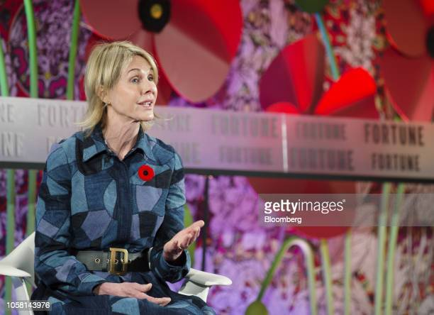 Kelly Craft US ambassador to Canada speaks during Fortune's Most Powerful Women International Summit in Montreal Quebec Canada on Tuesday Nov 6 2018...