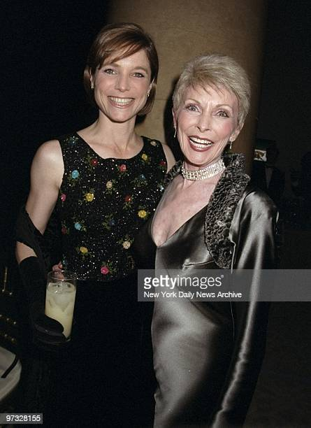 Kelly Curtis and her mother Janet Leigh step out together for Edith Head A Rretrospectacular at Cipriani Event was a beneift for MPTF and DIFFA