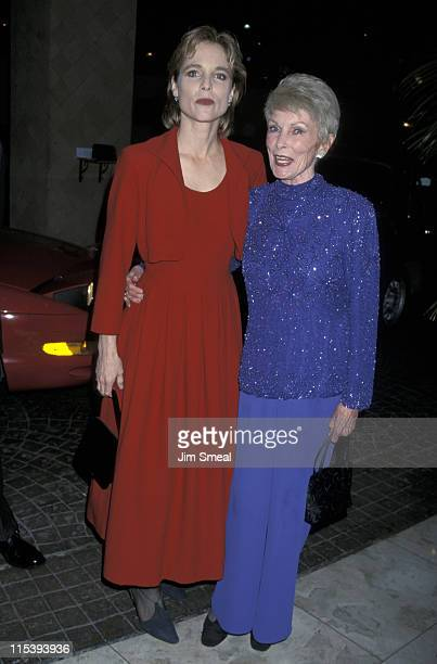 Kelly Curtis and Janet Leigh during 15th LA Film Critics Awards at Belage Hotel in Los Angeles CA United States