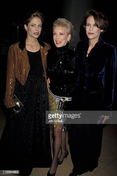 Kelly Curtis, Janet Leigh, and Jamie Lee Curtis during 10th Annual American Cinema Awards at Beverly Hilton Hotel in Beverly Hills, California,...