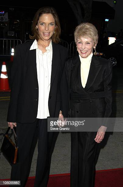 "Kelly Curtis & Janet Leigh during ""It Runs In The Family"" Premiere - Arrivals at Mann Bruin Theatre in Westwood, California, United States."
