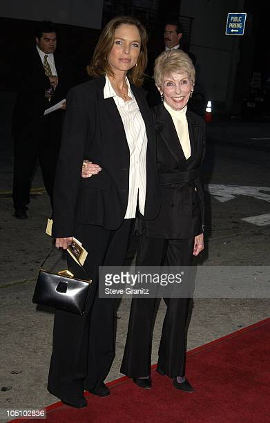 """Kelly Curtis & Janet Leigh during """"It Runs In The Family"""" Premiere - Arrivals at Mann Bruin Theatre in Westwood, California, United States."""