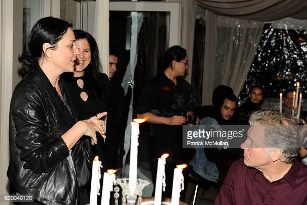 Kelly Cutrone and Dean Holtermann attend People's Revolution Presents MOTOROLA'S AURA RETURN TO ARTISTRY Dinner at SOHO Grand Hotel on December 9...