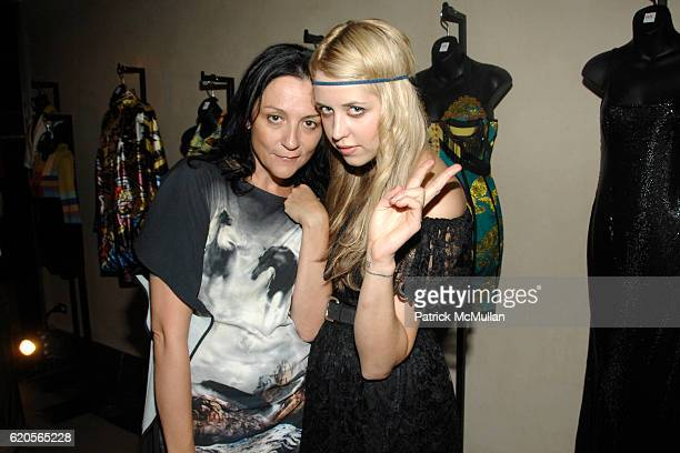 Kelly Cutrone and Peaches Geldoff attend CHRISTIE'S FASHION ART A Private Preview of Resurrection AvantGarde Fashion and Contemporary Art at...