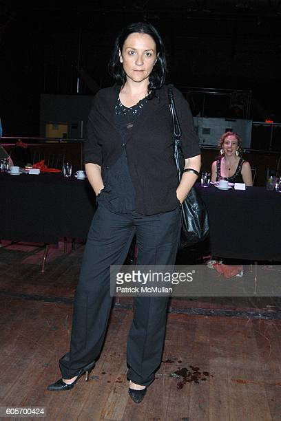 Kelly Cutrone attends Confessions from the Velvet Ropes Dinner at SOL on July 11 2006 in New York City