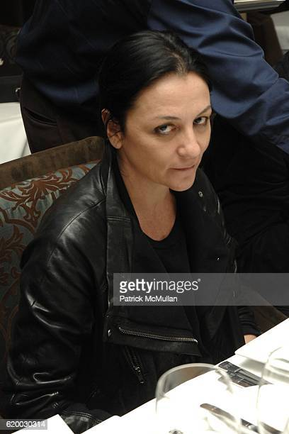 Kelly Cutrone attends People's Revolution Presents MOTOROLA's AURA RETURN TO ARTISTRY Dinner at RESTAURANT at Sunset Marquis on December 11 2008 in...