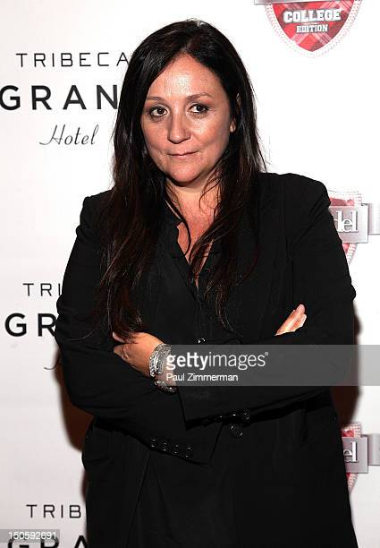 Kelly Cutrone attends the America's Next Top Model College Edition Cycle 19 Premiere at the Tribeca Grand Hotel on August 22 2012 in New York City
