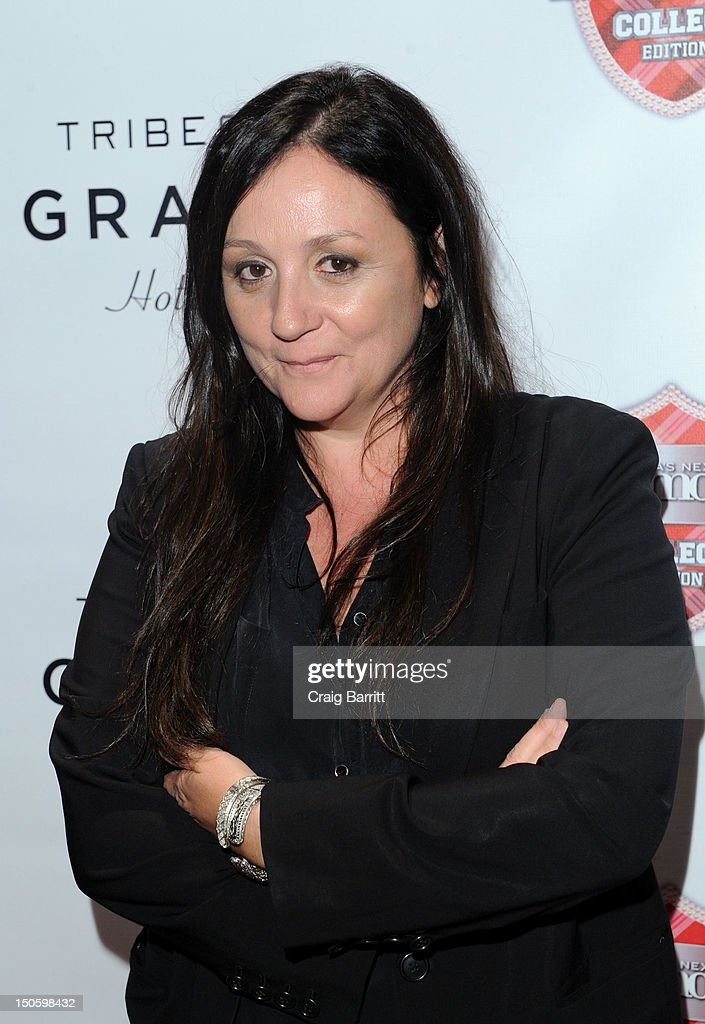 Kelly Cutrone attends the 'America's Next Top Model: College Edition, Cycle 19' Premiere at the Tribeca Grand Hotel on August 22, 2012 in New York City.