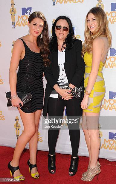 Kelly Cutrone Kelly Cutrone and Whitney Port arrive at the 2010 MTV Movie Awards Arrivals at Gibson Amphitheatre on June 6 2010 in Universal City...