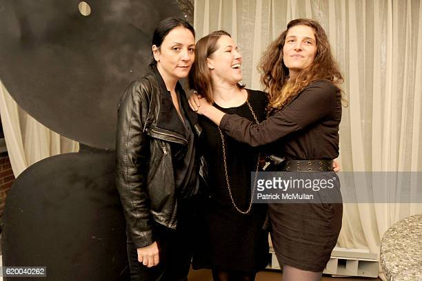 Kelly Cutrone Molly Sheehan and Maya Singer attend People's Revolution Presents MOTOROLA'S AURA RETURN TO ARTISTRY Dinner at SOHO Grand Hotel on...