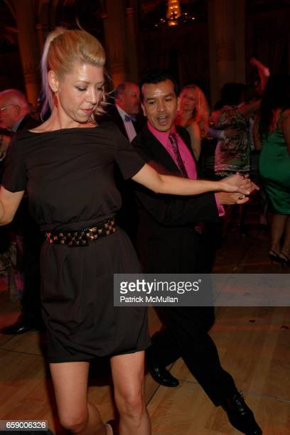 Kelly Devine and Sergio Trujillo attend BALLET HISPANICO's Black Slipper Ball at The Plaza Grand Ballroom on April 20 2009 in New York City