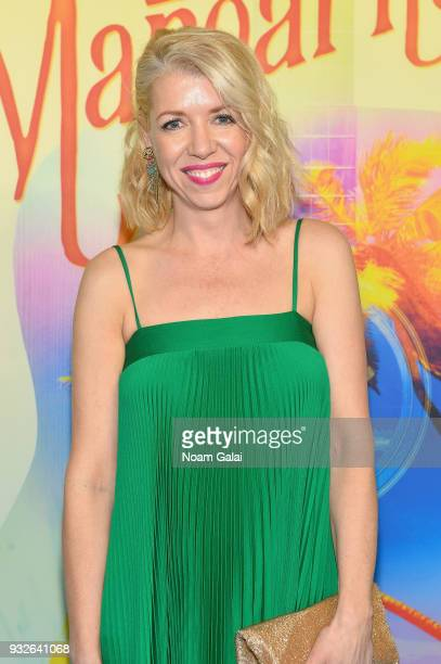 Kelly Devine attends the Broadway premiere of 'Escape to Margaritaville' the new musical featuring songs by Jimmy Buffett at the Marquis Theatre on...