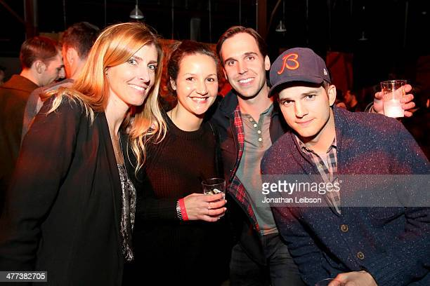 Kelly Donnelly with AGRADE Alexis Frey with Life After Denim Chris Hollod with AGRADE and actor Ashton Kutcher attend AGRADE And Nas Live from Austin...