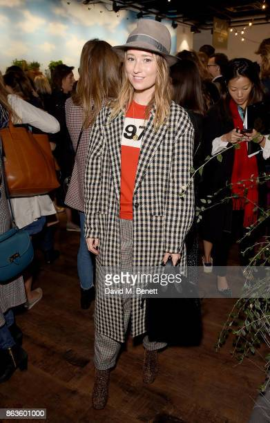 Kelly Eastwood of The London Chatter at the opening of the new Bicester Village and the launch of the British Collective at Bicester Village on...