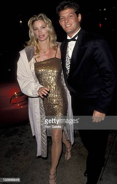 Kelly Emberg and date during Opening Night Party for Guys Dolls at Club Tatou in Hollywood California United States
