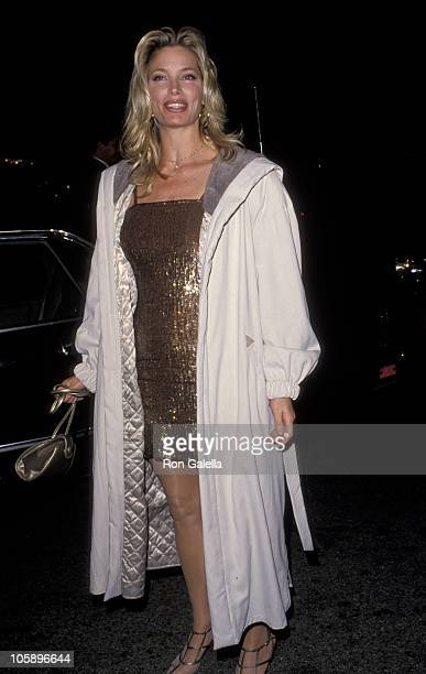 Kelly Emberg during Opening Night Party for Guys Dolls at Club Tatou in Hollywood California United States
