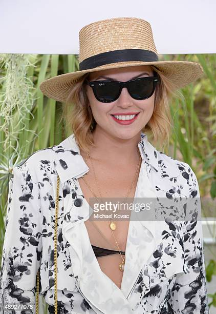 Kelly Framel attends the Official HM Loves Coachella Party at the Parker Palm Springs on April 10 2015 in Palm Springs California