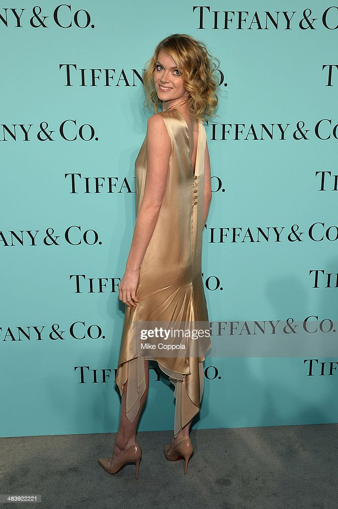 Kelly Framel attends the Tiffany Debut of the 2014 Blue Book on April 10, 2014 at the Guggenheim Museum in New York, United States.
