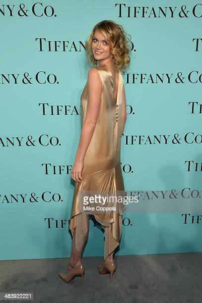 Kelly Framel attends the Tiffany Debut of the 2014 Blue Book on April 10 2014 at the Guggenheim Museum in New York United States