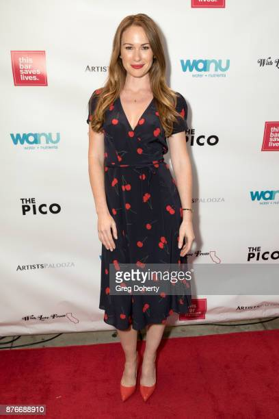 Kelly Frye attends With Love From California A Night Of One Act Plays Benefiting Hurricane Relief Efforts Through Team Rubicon at The Pico Playhouse...