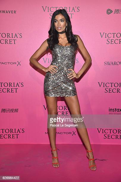 Kelly Gale attends the 2016 Victoria's Secret Fashion Show after party on November 30 2016 in Paris France