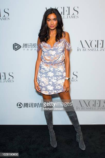 Kelly Gale attends the Russell James 'Angels' book launch & exhibit at Stephan Weiss Studio on September 6, 2018 in New York City.