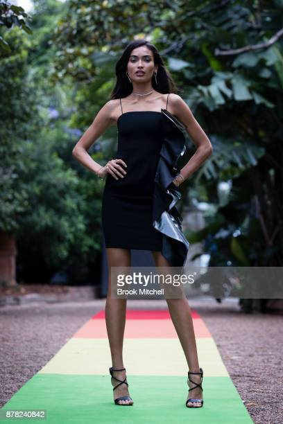 Kelly Gale attends the Swarovski Rainbow Paradise Spring Summer 18 Collection Launch on November 24 2017 in Sydney Australia