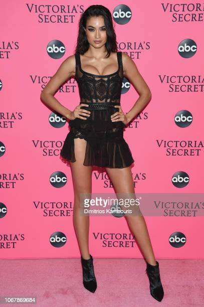 Kelly Gale attends the Victoria's Secret Viewing Party ar Spring Studios on December 2 2018 in New York City