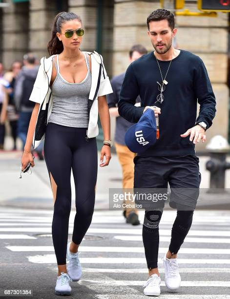Kelly GaleTobias Sorensen are seen in Soho on May 23 2017 in New York City