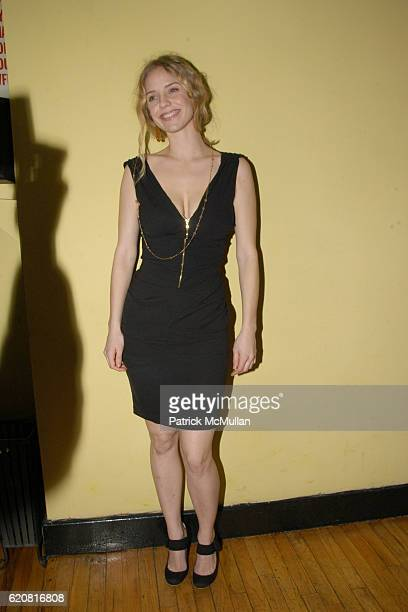 Kelly Garner attends Opening night performance of THE SEAGULL and after party at Off-Broadway's Classic Stage Company and Pangea on March 13, 2008 in...