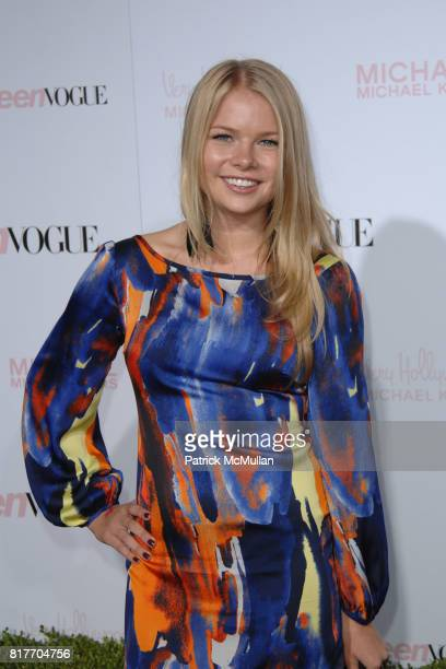 Kelly Goss attends 8th Annual Teen Vogue Young Hollywood Party for Red Carpet at Paramount Studios on October 1 2010 in Hollywood California