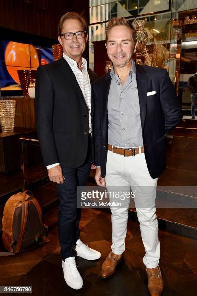 Kelly Graham John Barman and Baccarat celebrates The French Style Issue with ELLE DECOR on September 13 2017 in New York City