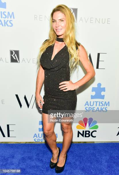 Kelly Greyson attends the 2018 Autism Speaks Into The Blue Gala at Beverly Hills Hotel on October 4 2018 in Beverly Hills California