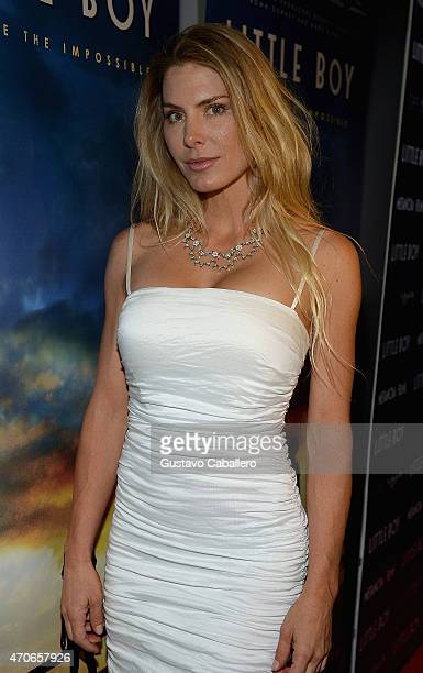 """Kelly Greyson attends the The Miami Premiere Of """"Little Boy"""" at Regal South Beach on April 21, 2015 in Miami, Florida."""