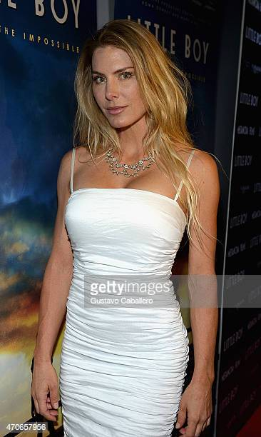 Kelly Greyson attends the The Miami Premiere Of Little Boy at Regal South Beach on April 21 2015 in Miami Florida