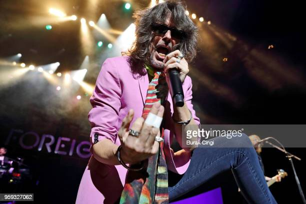 Kelly Hansen of Foreigner performs live on stage at Royal Albert Hall on May 16 2018 in London England