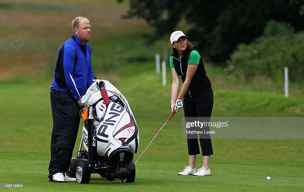 Kelly Hanwell Of Rugby Golf Club And Kevin Taylor Of Brailsford Golf News Photo Getty Images