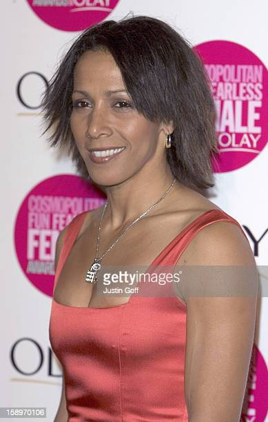 Kelly Holmes Attends The Cosmopolitan Fun Fearless Female Awards With Olay At London'S Bloomsbury Ballroom