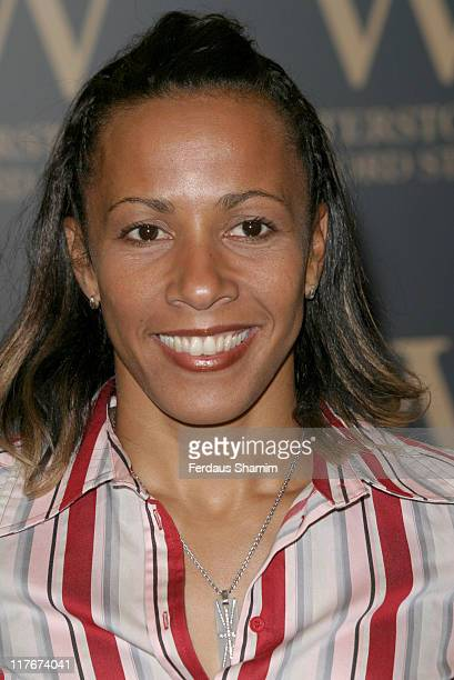 """Kelly Holmes during Kelly Holmes Signs Her Book """"My Olympic Ten Days"""" at Waterstones in London at Waterstones in London, Great Britain."""
