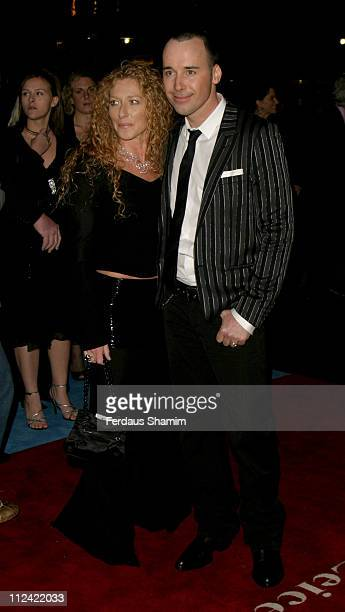 "Kelly Hoppen and David Furnish during ""Alfie"" World Charity Premiere in Aid of ""Make A Wish"" - Arrivals at Empire Leicester Square in London, Great..."