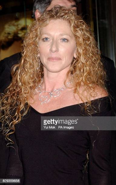 Kelly Hoppen arrives for the world charity premiere of Alfie at the Empire Leicester Square in central London in aid of MakeAWish foundation