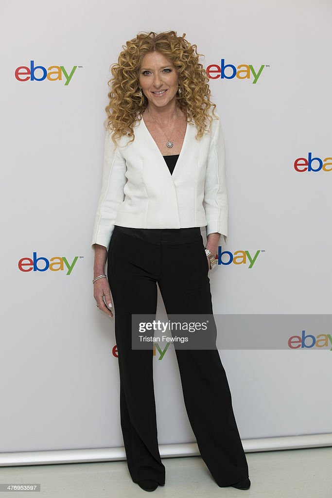 Kelly Hoppen at Rook and Raven on March 6, 2014 in London, England.