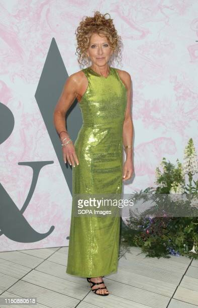 Kelly Hoppen at The Victoria and Albert Museum Summer Party in partnership with Dior at the John Madejski Garden Victoria and Albert Museum Kensington