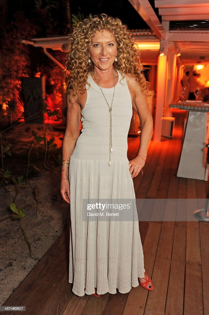 Kelly Hoppen attends a private dinner which she hosted to celebrate her design of the exclusive resort LUX Belle Mare on December 17, 2013 in Belle Mare, Mauritius.