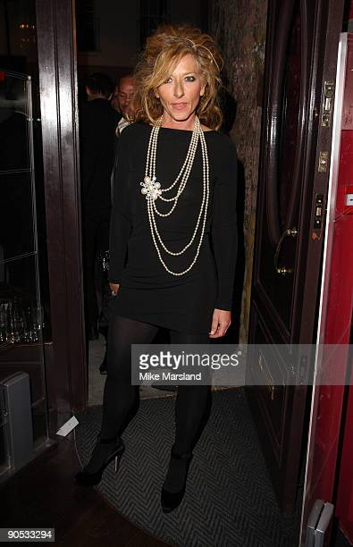 Kelly Hoppen attends private view of Coco De Mer And John Stoddart: Love And Lust on September 9, 2009 in London, England.